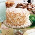 Coconut Cake - Layers of rum syrup are hidden within this toasted coconut confection. Just Desserts, Dessert Recipes, Cupcake Recipes, Do It Yourself Wedding, Toasted Coconut, Coconut Rum, Cake Flour, Cupcake Cakes, Cupcakes