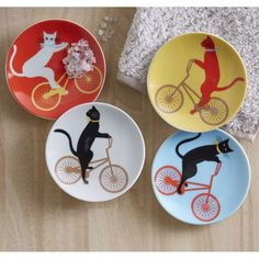 Cat Cruiser Plates (set of 4)
