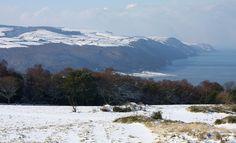 Porlock Bay in Snow by Jochen Langbein Wildlife, via Flickr