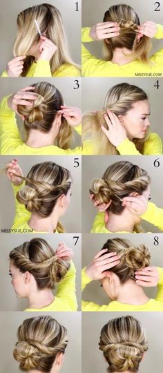 50 Hairstyles That Can Be Done in 3 Minutes