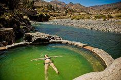 Hot Springs/Spa of Peru Colca Canyon