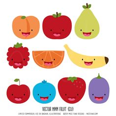 Would be cute to teach kids to eat their fruit... would make some for vegetables to help them love vegs also ~!~