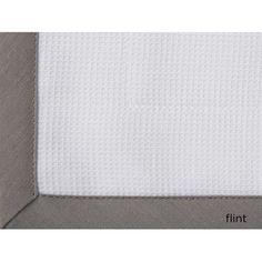 Peacock Alley Pique Tailored Cotton Boudoir/Breakfast Pillow Color: Flint
