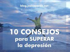 En el articulo de hoy te doy 10 CONSEJOS para superar la depresión. Estoy segura que después de la tormenta viene la calma. Todos tenemos momentos buenos y malos, la actitud va a ser la diferencia. ✔ http://jesicaperez.net/?ad=pin