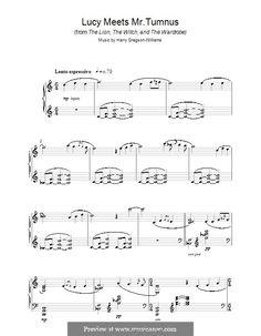 narnia sheet music free - Google Search