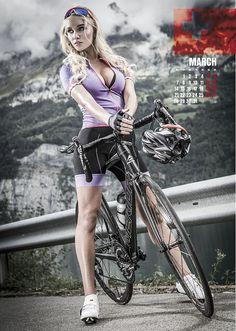 Sexy cycling Kalender 2016