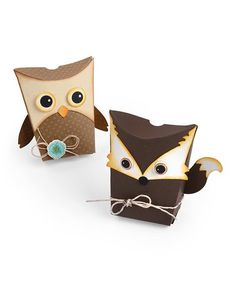 Love this Sizzix Thinlits Owl & Fox Box By Jen Long Die Set on #zulily! #zulilyfinds