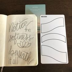 I'm working on some word art as a means to ground myself. The Word Art Cards help me create a balanced composition. #bulletjournal #lettering
