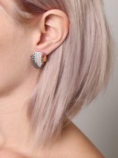 Headdress Earrings - Gypsy Warrior