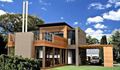 pre fab modern homes - Google Search