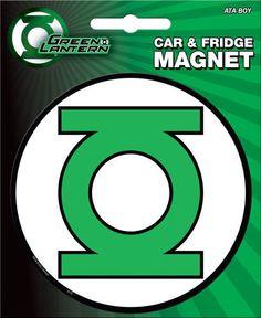 Green Lantern Logo Car Magnet
