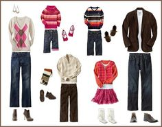 What to Wear for Family Portrait Session