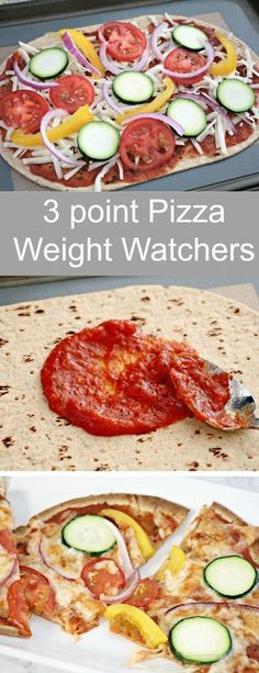 3 Point Weight Watchers Freestyle Pizza Recipe