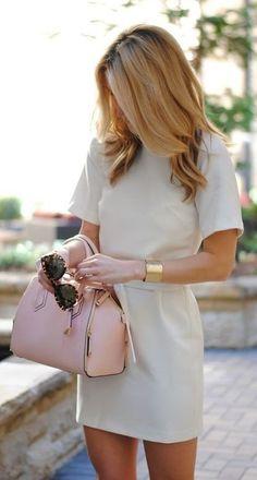 summer outfits Cream & Blush.