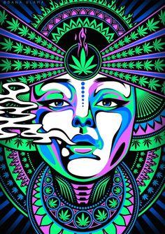 420 cannabis dope drawing drugs leaf maryjane neon psychedelic psytrance smoke t… – Design Arte Dope, Dope Art, Psychedelic Art, Arte Hippy, Arte Do Hip Hop, Drugs Art, Arte Alien, Trippy Drawings, Trippy Painting