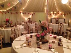 Marquee Interior from BSW Marquees