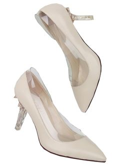 Apricot Almond Toe High Heeled Shoes 56.67