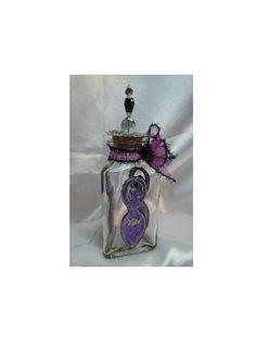 Amethyst Goddess,  Altar / Potion/Spell Bottle by Eliora  http://etsy.me/1I56aUV via @Etsy