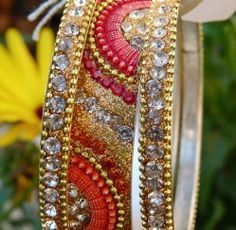 Indian Fashion Jewelry Bangle Bracelet bollywood ethnique Femmes Traditionnel Bangle