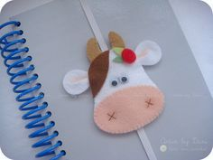Marcador de páginas  use this idea on elastic for kiddos bookmarks----maybe a few for teacher!