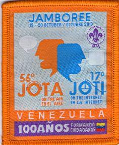 Disponible/available: 01. Insignia oficial de evento en Venezuela. 2013.