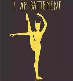 movementaddiction:  Batman ballerina http://ift.tt/XG3SbU