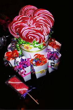 Your place to buy and sell all things handmade Candy Cakes, Candy Favors, Circus Birthday, Birthday Parties, Candy Land Theme, Candy Centerpieces, Types Of Candy, Candy Bar Party, Do It Yourself Wedding