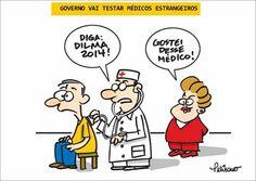 Dilma vai examinar médicos importados