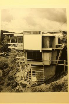 , Janson Residence, R. M. Schindler