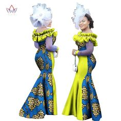 Image of African Ankara Long Sleeve Dashiki Long Maxi Dresses African Clothing For Men, African Dresses For Women, African Attire, African Wear, African Fashion Dresses, African Women, African Outfits, African Fashion Designers, African Print Fashion