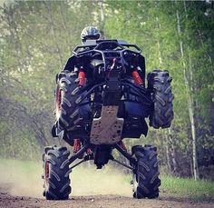 What is this a Monster Quad ? Can Am, Atv Motocross, Polaris Atv, Quad Bike, Atv Quad, Terrain Vehicle, Atv Four Wheelers, Buggy, Dirtbikes