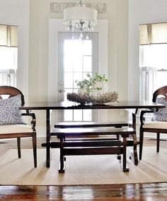 Summer Home Tour 2015 Love the window treatments! Maybe for the master bath?