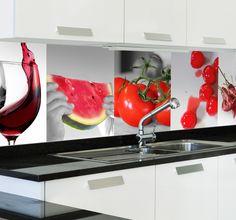 Put this amazing vinyl decorative on your kitchen! Kitchen Room Design, Kitchen Decor, Cake Shop Interior, Small Kitchen Lighting, Stained Glass Paint, Kitchen Styling, Kitchen Backsplash, Entry Wall, Home Appliances