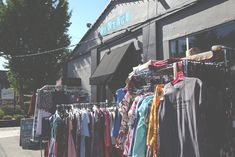 Today's stop: House of Vintage, Portland, Oregon. If you're ready to sift and thrift, this is the place to be.