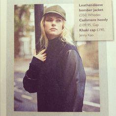 Varsity Jacket love inside the Telegraph Fashion
