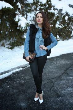 Snow White Heels
