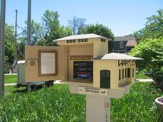 David Kukla. Cedarburg, WI. This Little Free Library is a replica of the Electric Interurban Depot Building in Cedarburg, WI. Built circa 1907, the depot served the Interurban Electric Railway and was part of southeastern Wisconsin's Transit system in the first half of the century. The former railway now forms the countywide Interurban Bike Trail in Ozaukee County. This Little Free Library was built and installed by David Kukla in 2013 and sits three blocks away from the actual depot.