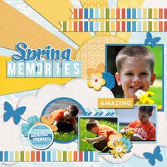 Spring Memories - Scrapbook.com