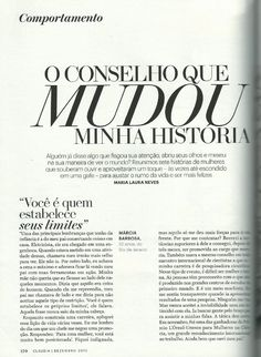 Revista Claudia - Dezembro/2012