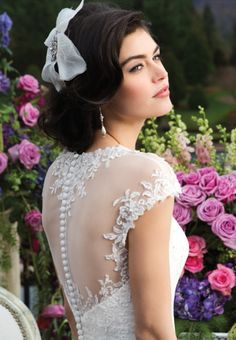 """Our inspiration behind the """"Sincerity Bride"""" revolves around soft romantic personal details that make a bride feel unique on her wedding day. Sincerity Bridal, Feel Unique, Bridal And Formal, Formal Wear, Wedding Day, Romantic, Wedding Dresses, Lace, How To Wear"""