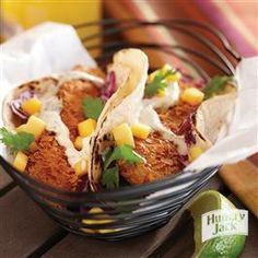 Flaky Fried Fish Tacos from Hungry Jack®