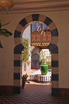 Detail at El Andaluz by Jeff Shelton Architect