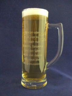 Candle & Rings - Bierglas mit Henkel 0,3 l graviert  Seite 1: (Schriftart, Kristen ITC ) z.B. MASTER, BACHELOR etc.  Seite 2: (Schriftart, Kristen ITC )  Was so alles in Dir steckt... Ich sage nur: Respekt, Respekt! Zeig der Welt Recht viel davon und nimm dies als Gratulation!  Die Schriftart oder der Spruch bei der Gravur kann auch gändert werden. Bitte bei der Bestellung angeben! Bachelor, Beer, Mugs, Glasses, Tableware, Laser Engraving, Personalized Gifts, Font Art, Respect