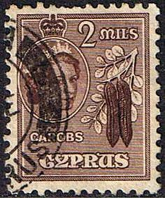 Stamps Cyprus 1955 New Currency SG 173 Fine Used Scott 168 Other European and British Commonwealth Stamps HERE!
