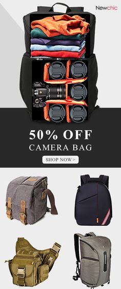 98856afc1d Shop Newchic.com to buy camera bags for your precious photo shooting  equipment.  bags  camera  photography