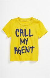 Peek 'Call My Agent' Tee (Infant)
