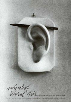 George Tscherny, School of Visual Arts Poster, 1960