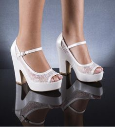 Wedding Shoes with lace