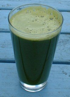Carrot and Spinach Juice - Gastritis