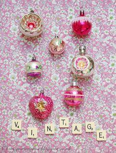 The Villa on Mount Pleasant :: vintage christmas ornaments